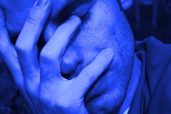 Cyanopsia, Vision Becomes Blue When An Erection
