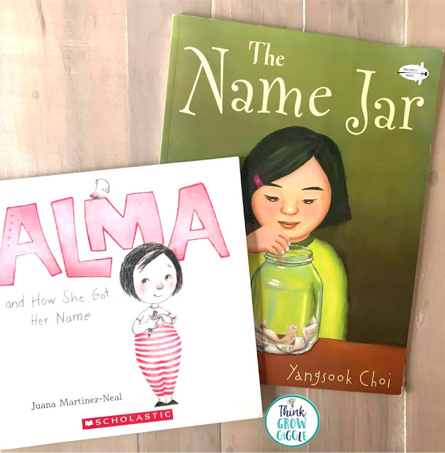 Name Jar activities for upper elementary