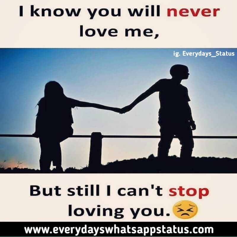Unique 10 One Sided Love Quotes In English Images
