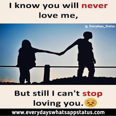 """One Sided Love Quotes in English   Everyday Whatsapp Status   UNIQUE 10+ """"ONE SIDED LOVE QUOTES IN ENGLISH"""" IMAGES"""