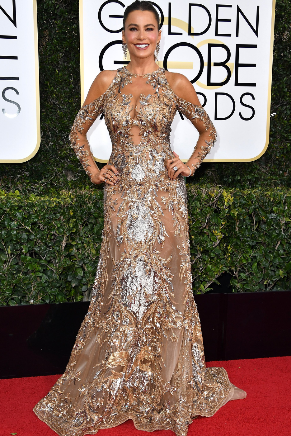 Sofia Vergara 2017 Golden Globes