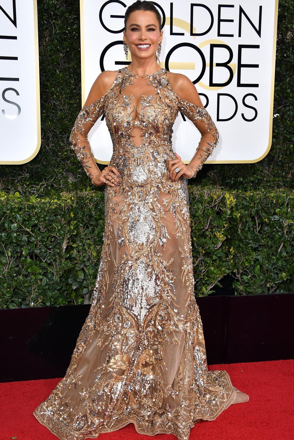 Sofia Vergara 2017 Golden Globes