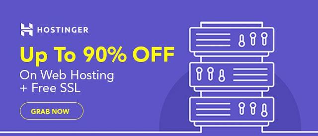 hostinger deals offers black friday sale 2020 cyber monday