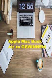 MacBook Air zu gewinnen
