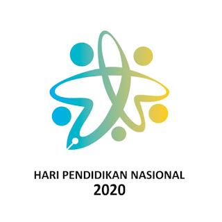 Logo peringatan hari pendidikan nasional 2020