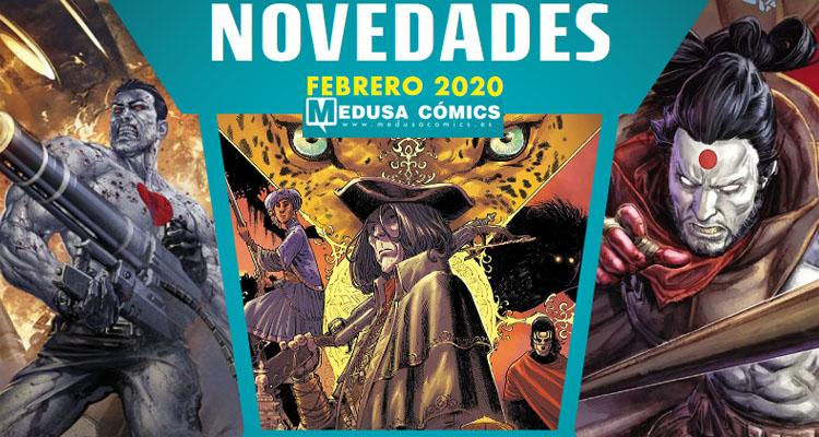 Medusa Cómics: Novedades Febrero 2020