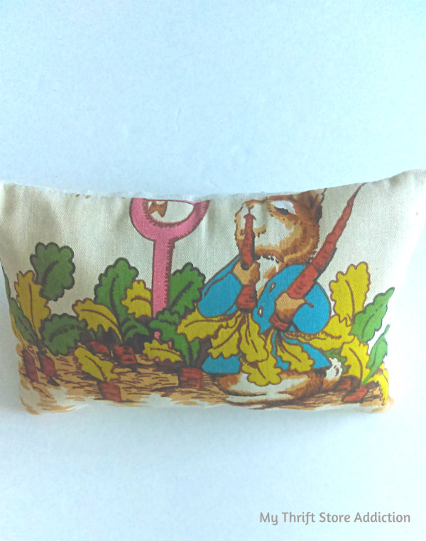 Peter Rabbit pillow