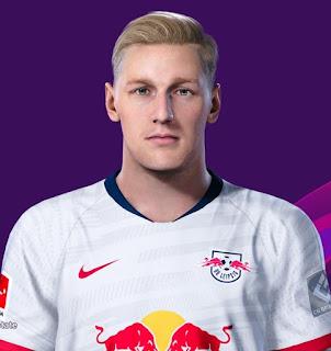 PES 2020 Faces Emil Forsberg by Davidjm08