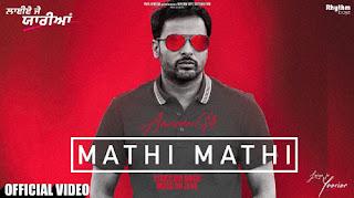 Mathi Mathi Lyrics - Amrinder Gill   Dr Zeus