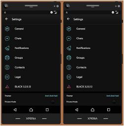 BBM Mod Black v3.2.5.12 Apk
