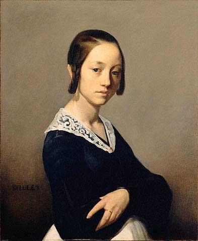 Жан Франсуа Милле - Луиза-Антуанетта Феарден. 1841
