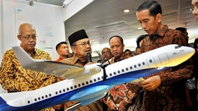 Hapus Proyek Pesawat Habibie