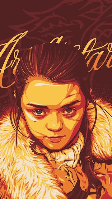 Arya Stark - Game of Thrones 4k Ultra HD Wallpaper