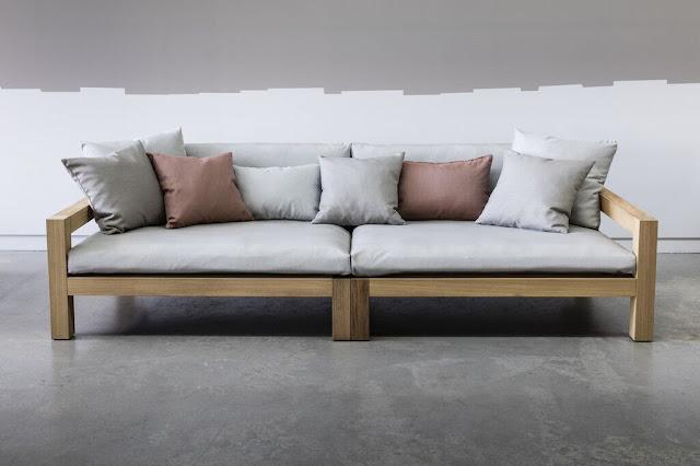 Piet Boon Studio wood frame sofa bespoke design