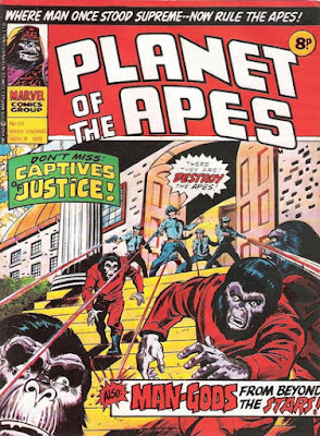 Marvel UK, Planet of the Apes #55