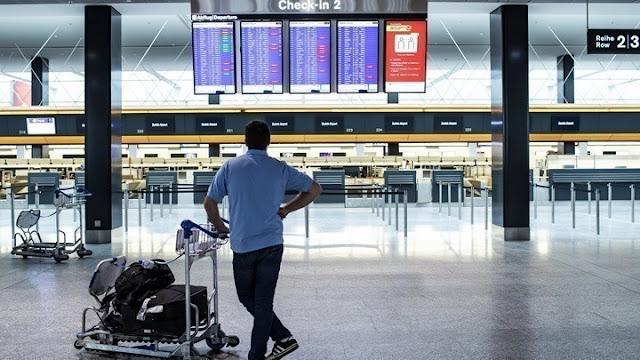 Κορωνοϊός: Πτώση 68,9 % στην επιβατική κίνηση στα αεροδρόμια της Ελλάδας