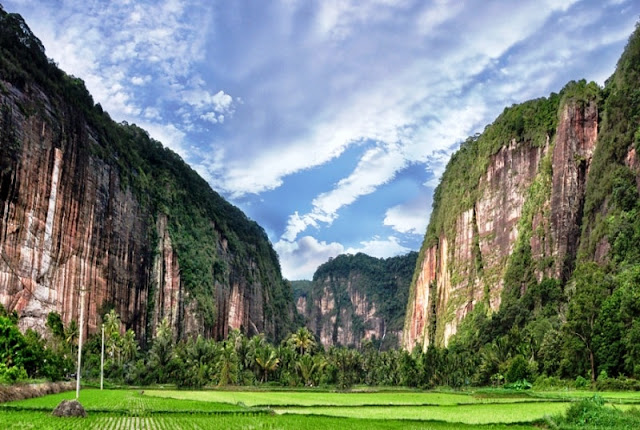 Tebingan Lembah Harau Sumatera Barat