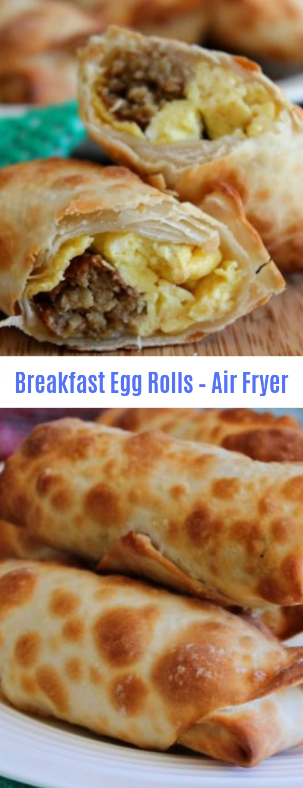 Breakfast Egg Rolls Air Fryer