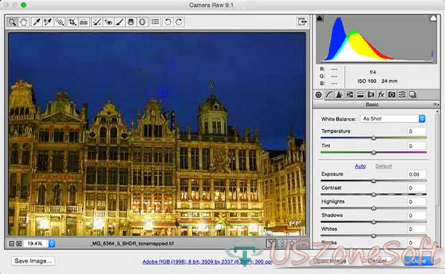 how to open camera raw in photoshop cs5