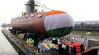 INS Khanderi Commissioned into Indian Navy