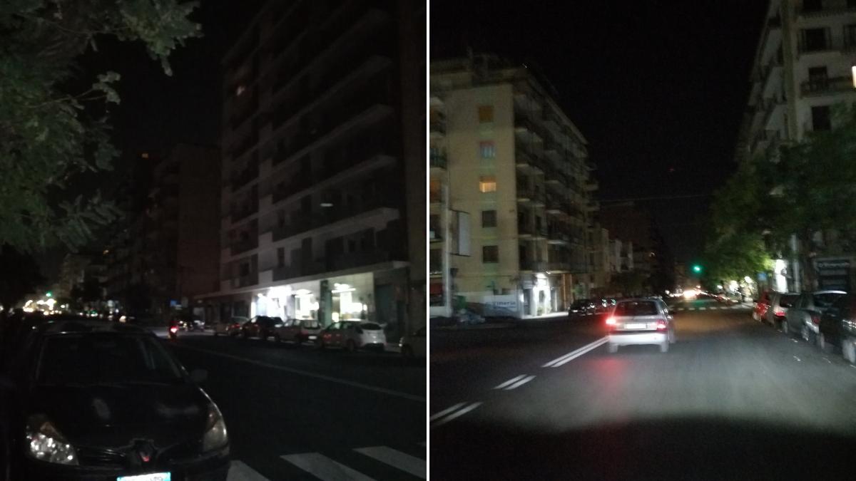viale Mario Rapisardi mancanza illuminazione pubblica