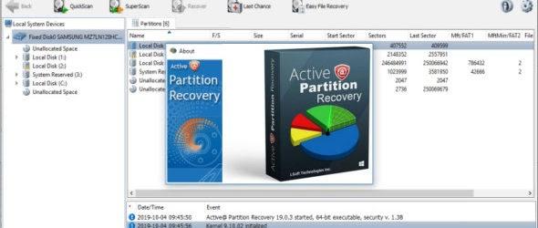 تحميل برنامج Active@ Partition Recovery Ultimate 20 لاستعادة البيانات