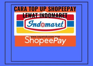 Cara  Top Up Shopeepay lewat Indomaret, Cara isi saldo lebih Mudah