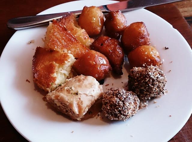 Moroccan Soup Bar, vegetarian, dessert