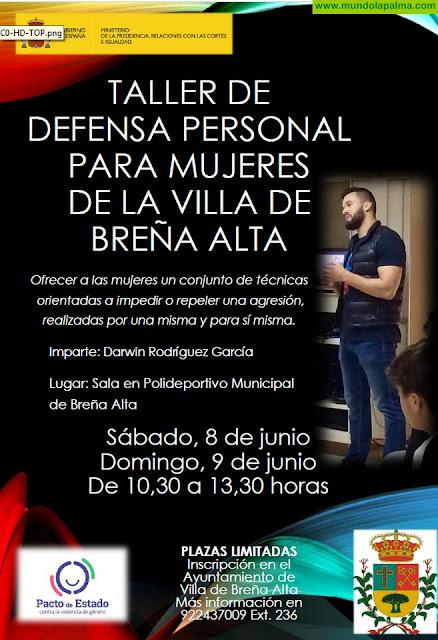 Taller de Defensa Personal Para Mujeres de La Villa de Breña Alta