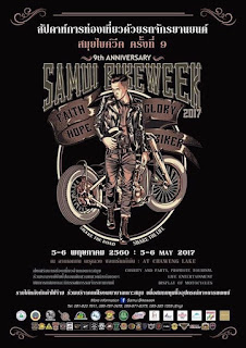 9th Samui Bike Week, 5-6 May 2017