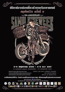 9th Samui Bike Week, 5-6 May 2017