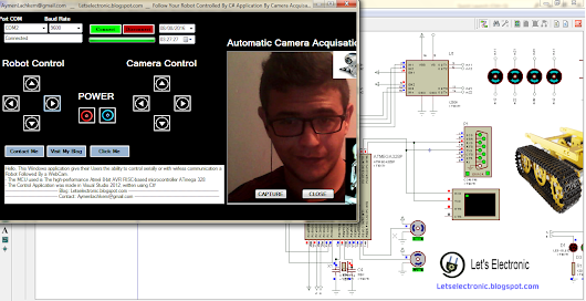 How To Make Your Own Robot Controlled With C#, Followed By A WebCam.
