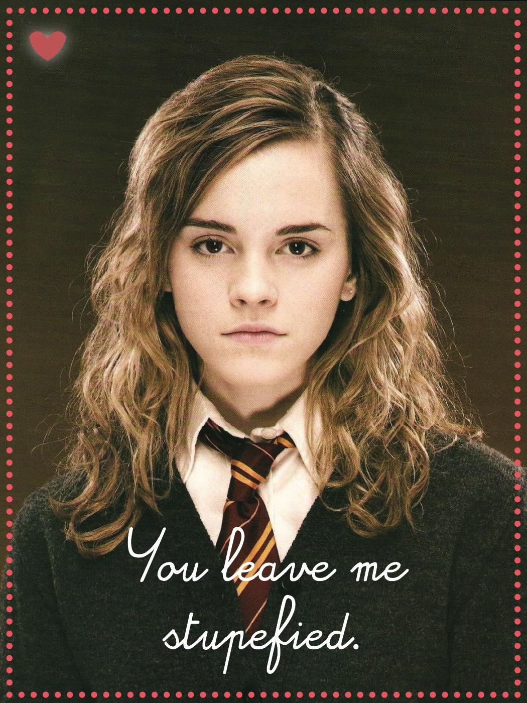 Geek Art Gallery: Cards: Harry Potter Valentines