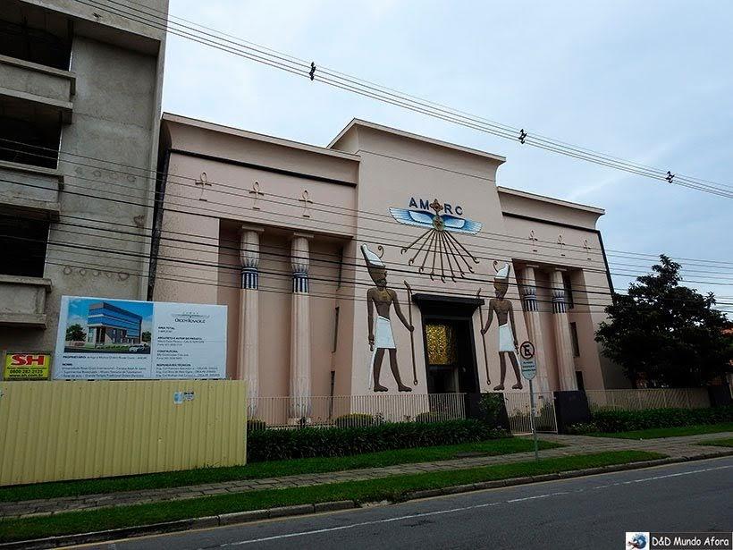 Museu Egípcio e RosaCruz- O que fazer em Curitiba, Paraná