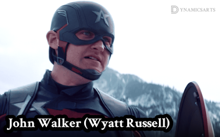 Who is the John Walker's Captain America in the Falcon and the Winter Soldier?