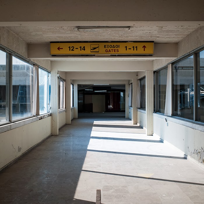 Abandoned Elliniko International Airport, Athens, Greece