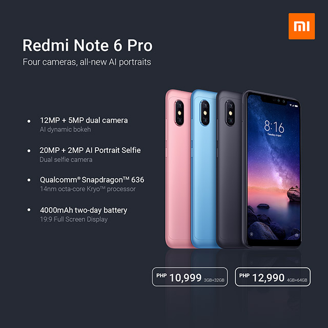 Xiaomi's Redmi Note 6 Pro Key Features