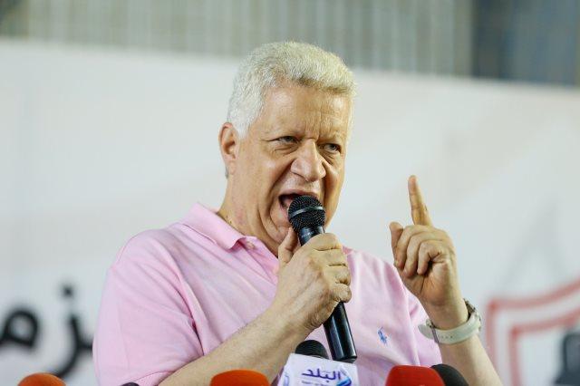 سحب الثقة من مرتضى منصور ومجلس الزمالك