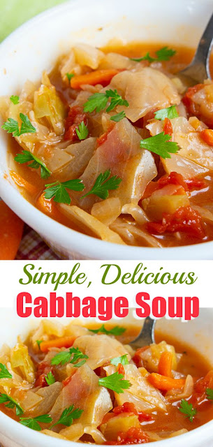 Easy & Healthy Cabbage Soup Recipe
