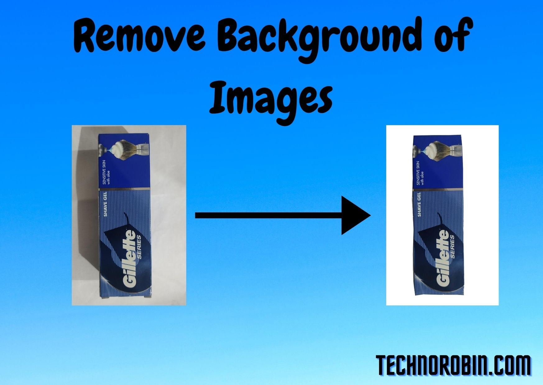 How to remove background of any type of images