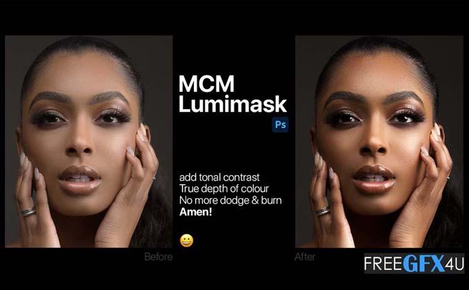 MCM Pro Lumimask Photoshop Action