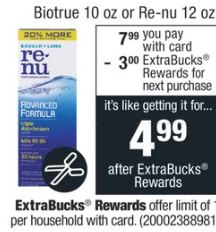 FREE Renu Solution at CVS