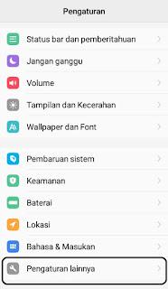 mode developer android