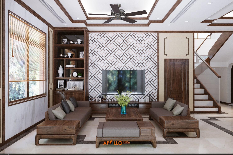 Cách thiết kế phòng khách đẹp hợp phong thủy tốt nhất