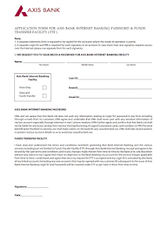 fd closure form of axis bank