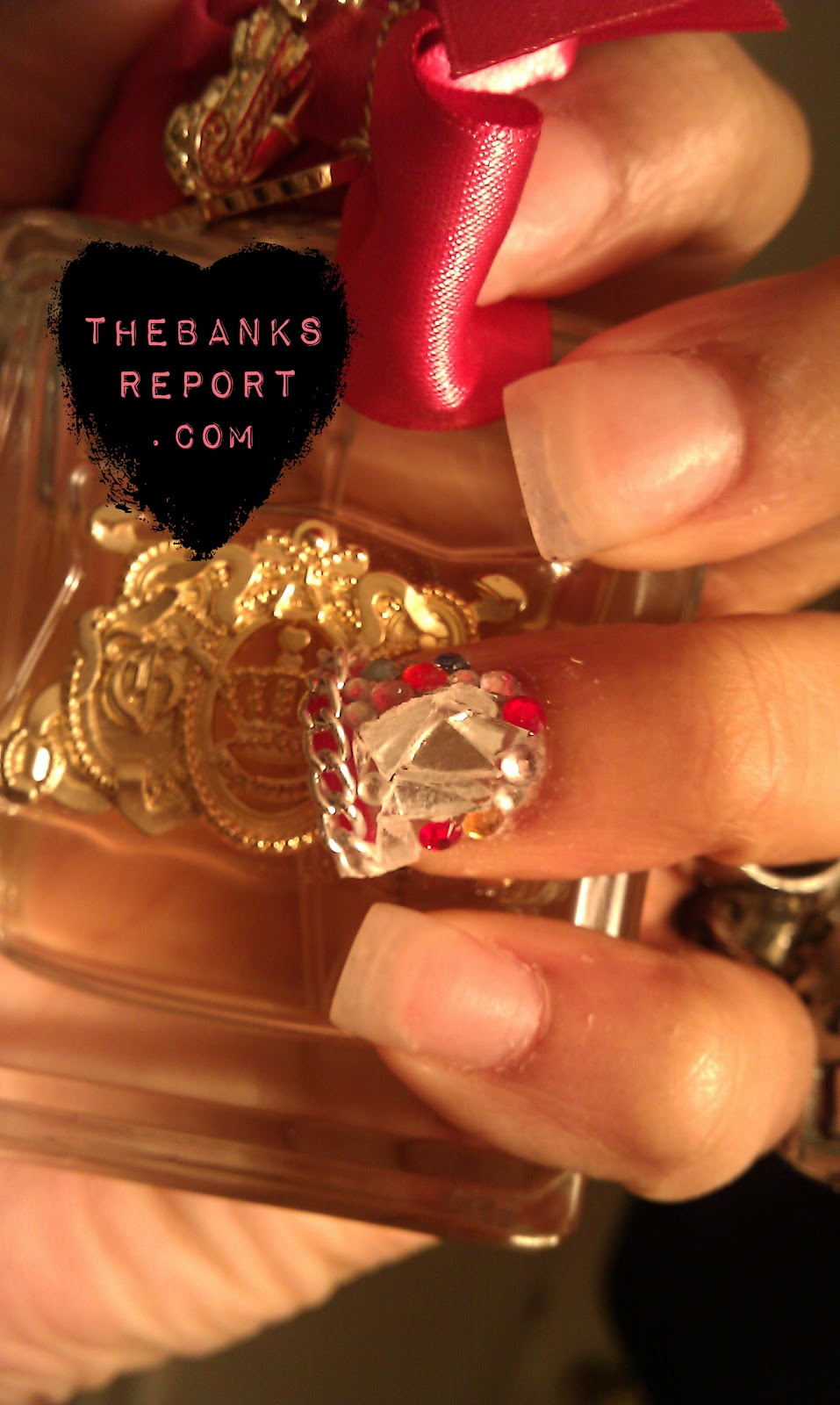 Do It Yourself Nail Designs: THEBANKSREPORT: Do It Yourself Swarovski Nail Design