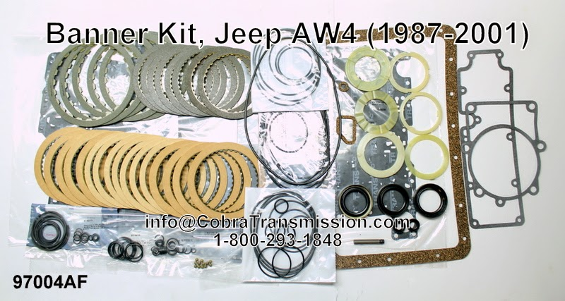 Cobra Transmission Parts 1-800-293-1848: A340 Series (AW4