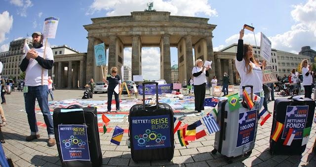 Coronavirus Pandemic pushes Germany's economy into recession