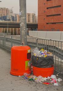Sampah Kemasan Sisa Makanan