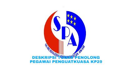 Deskripsi Tugas, Gaji dan Kelayakan Penolong Pegawai Penguatkuasa Gred KP29